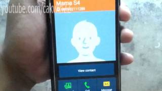 Samsung Galaxy S5: How to answer a call (Android Phone)