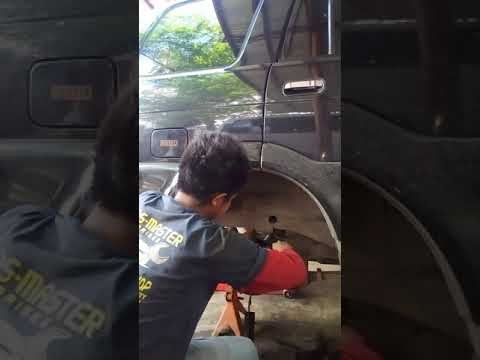 How to replace rubber cup isuzu sportivo Part 1 by Andronico Magno