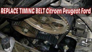 Video Replacing timing belt and water pump citroen peugeot ford - c3 fiesta download MP3, 3GP, MP4, WEBM, AVI, FLV Juli 2018