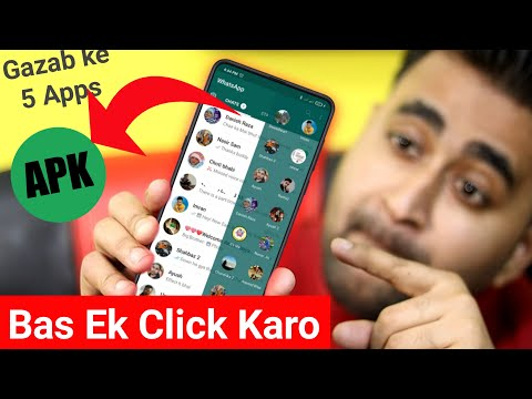 5 SUPER Powerful ANDROID Apps Latest December 2020 | Create WhatsApp APK In One Click | EFA
