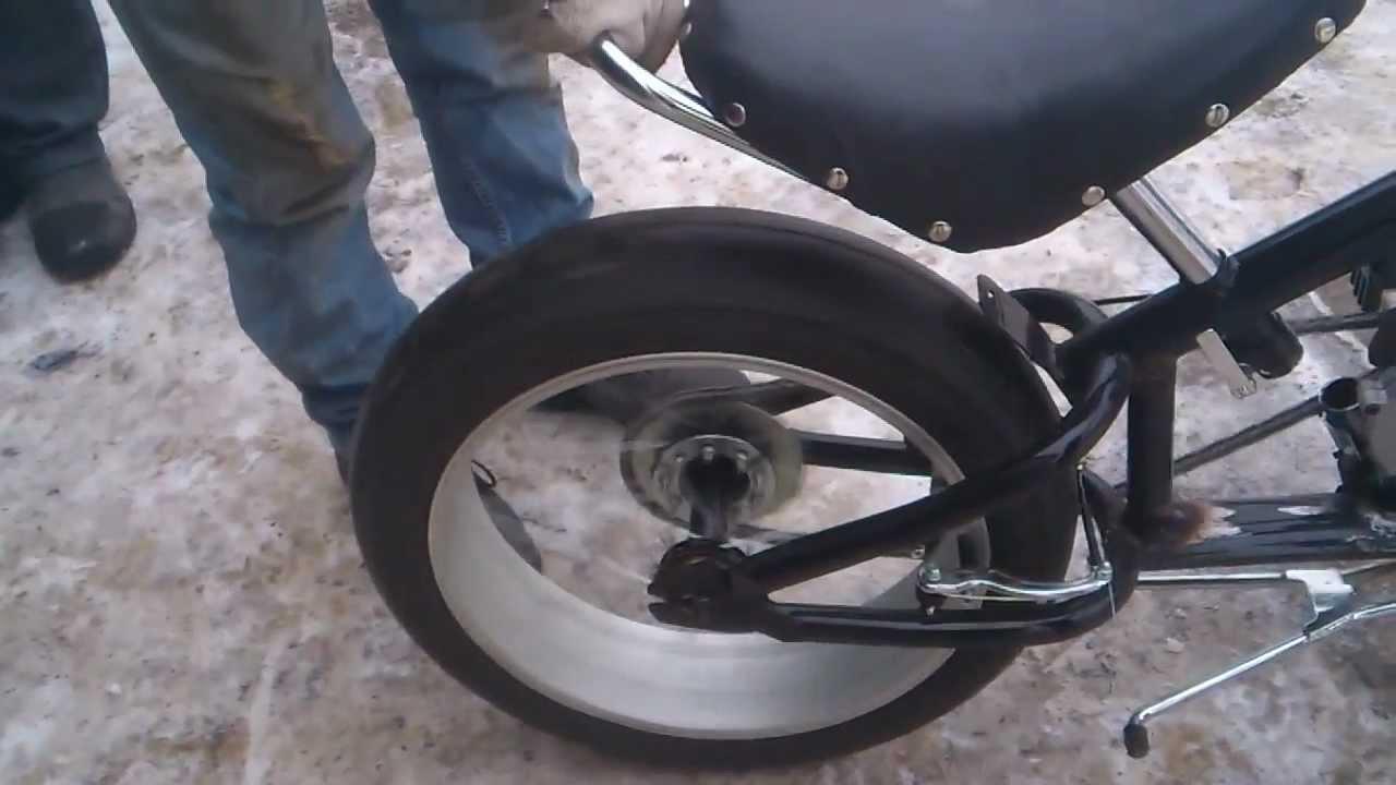 Как сделать чоппер из велосипеда фото 501