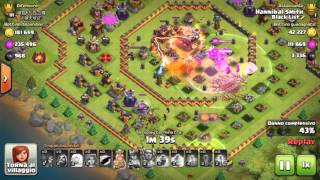 [ Clash of Clans] Th11 Maxed Ring Base 3 Star