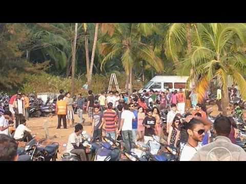 Sunburn Festival 2010, Candolim beach, Goa