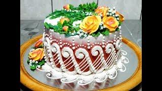 УКРАШЕНИЕ ТОРТОВ, Торт КЛАССИКА от SWEET BEAUTY СЛАДКАЯ КРАСОТА, Cake Decoration