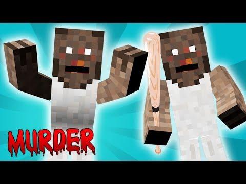 GRANNYS TOCANDO O TERROR! - Minecraft Murder Mystery