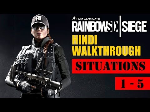 "Rainbow Six Siege (Hindi) Walkthrough #1 - ""DEFUSE THE BOMB!"" (PS4Pro Gameplay)"
