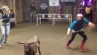 Three Amigos Super Steer Roping