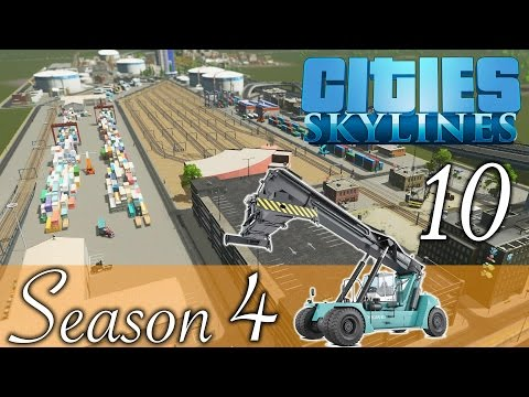 Cities Skylines ★Details! Cargo Terminal! Folge 10 [HD] [Deutsch] ★Let's Play Cities Season 04