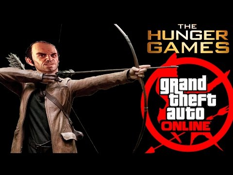 HUNGER GAMES : JOUR 2 BY LASALLE - GTA 5 ONLINE