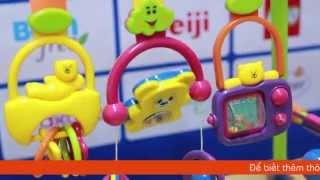 Đồ chơi kệ chữ A 889A dành cho trẻ sơ sinh
