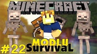 Minecraft Modlu Survival - Gemi Yapıyoruz - Bölüm 22