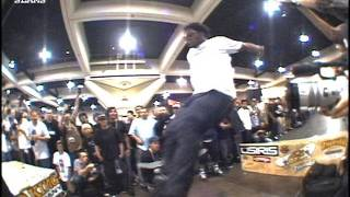 Harold Hunter Skateboard Long Ollie Contest Attempt 2002 Classic Slams #5