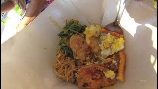 Indonesia Madura Street Food 3096 Part.1 Rp.7.000 Nasi Jagung Komplit YDXJ0336