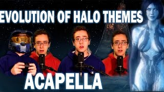 Evolution of Halo Themes - Acapella - William Rennekamp