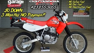 2015 Honda XR650L Dual Sport Review of Specs / SALE Price - Chattanooga TN Motorcycles since 1962!