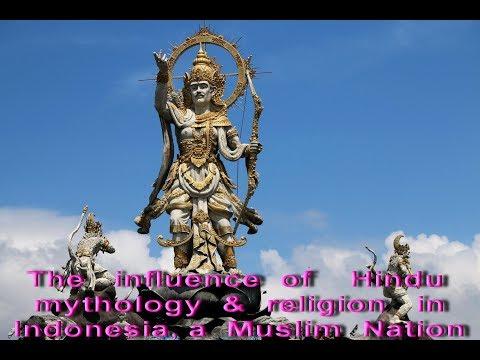 Unbielevable infuence of Hindu mythology & religion in Indonesia,a Muslim Nation