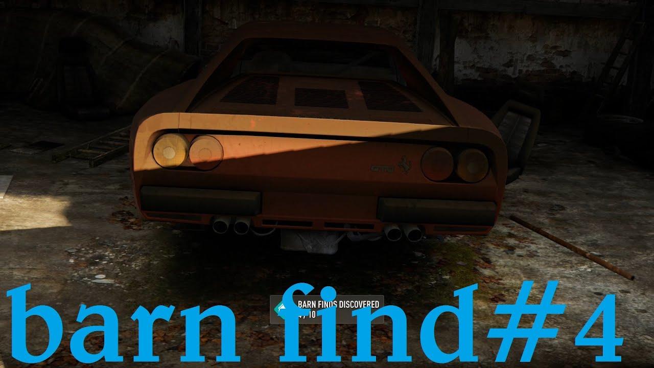 Forza Horizon 2 Barn Find Italia San Giovanni 4 Youtube