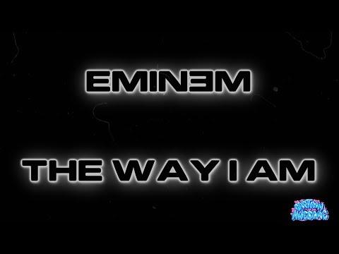 The Way I Am - Eminem (Karaoke)