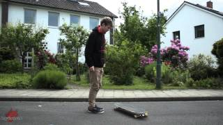 Longboard Trick Tipp: Fakie No-Comply Big Spin von Sven Willy