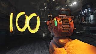 'KINO DER TOTEN' ROUND 100 SPEEDRUN 4:17:28! (Black Ops 3 Zombies)