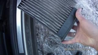 Замена фильтра салона на Тиида / Cabin air filter replacement - Tiida