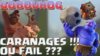 LE GOBOUHOG | CA FAIT MAL ... OU PEUT ETRE PAS !!! | Clash of Clans FR