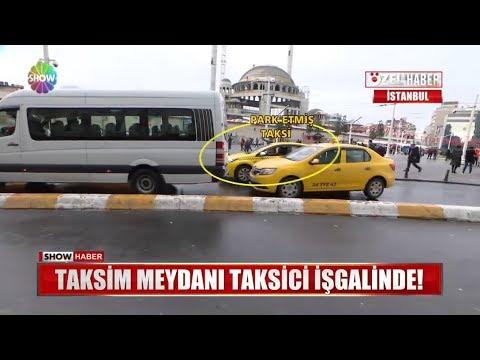 Taksim Meydanı Taksici Işgalinde!