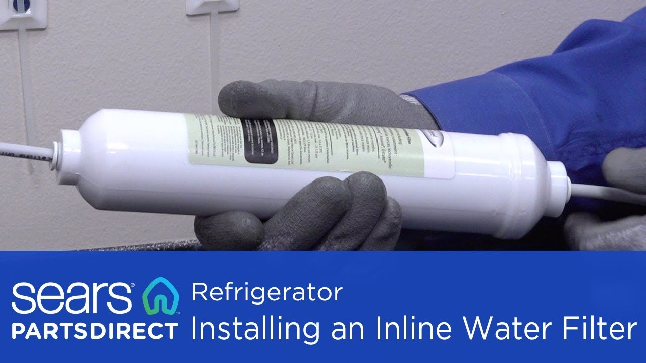 Installing An Inline Refrigerator Water Filter You