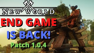 New World Patch Noтes 1.0.4 Server Transfer Outpost Rush Enabled!
