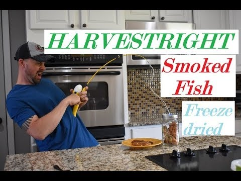 HARVESTRIGHT FREEZE DRYER 🐟Honey Smoked Fish🐟 / Cost/ Rehydrating