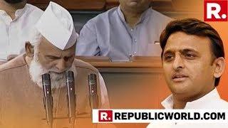 WATCH SP MP Shafiqur Rehman Refuses To Say & 39 Vande Mataram& 39 When Prodded During Lok Sabha Oathtaking