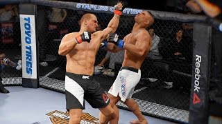EA Sports UFC 2 - 完全被屌打