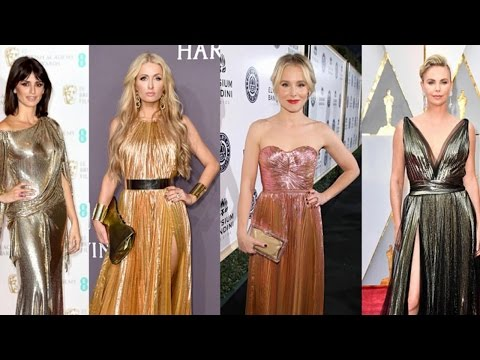Insider Style Guide: It's All About Metallic for Hollywood's Biggest Stars!