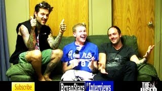 The Used Interview #2 Quinn Allman & Jeph Howard Warped Tour 2012