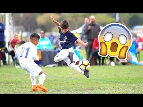 KIDS IN FOOTBALL - FAILS, SKILLS & GOALS #1