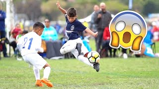 KIDS IN FOOTBALL - FAILS, SKILLS & GOALS #1