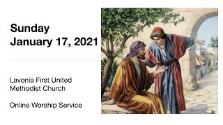Online worship service for Sunday, January 17, 2021