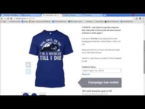 Fb ads teespring masterclass teespring facebook ads for T shirt ads on facebook