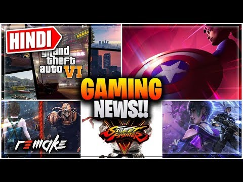 🔥PUBG Nepal BAN, GTA 6, Cyber Hunter Release, Street Fighter 5 free, RE3: Remake GAMING News Hindi - 동영상