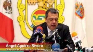 Renuncia el gobernador del estado de Guerrero, Ángel Aguirre, por caso Ayotzinapa