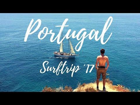 Surfing Arrifana´17, Portugal Algarve / Cliff Jumping Ponta da Piedade