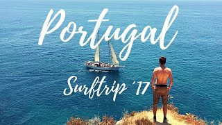 Surfing Arrifana, Portugal Algarve  2017