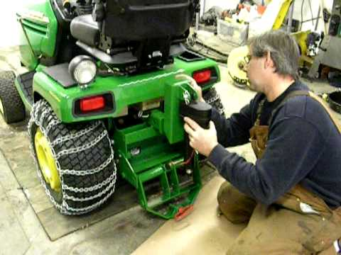 John Deere Sleeve Hitch Youtube