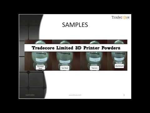 3D Printer YB Metal Powder (Additive Manufacturing Powders, 3D Print in Metal)