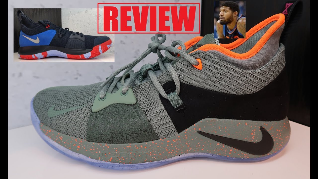 "outlet store ae413 9d586 Nike PG 2 'UNDEFEATED' + OKC Home Craze"" Paul George Sneaker Review"