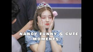 (MOMOLAND) Nancy funny & cute moments
