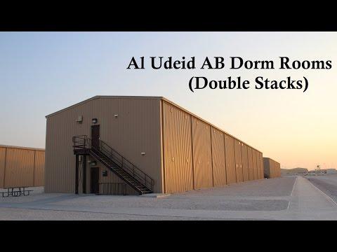 Al Udeid AB Dorm Rooms (Double Stacks)