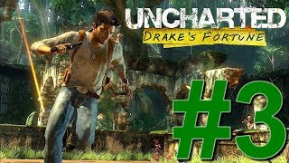 Uncharted : Drake's Fortune - [3]  - Let's Play - PS4 - FR