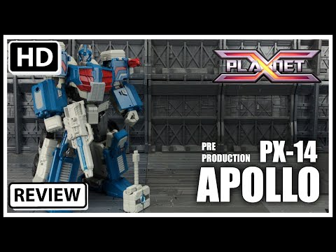 Planet X Transformers PX-14 Apollo IDW Ultra Magnus Action figure New