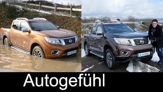 Nissan Navara Np300 Frontier FULL Review Offroad Onroad test driven all-new neuer 2017